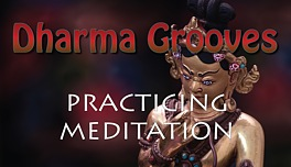 Dharma Grooves: Meditation and Practicing Mediation